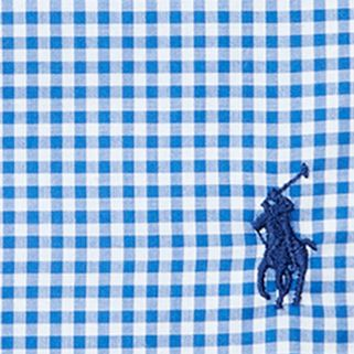 Young Men: Polo Ralph Lauren Dress Shirts: Blue/White Polo Ralph Lauren Gingham Regent Dress Shirt
