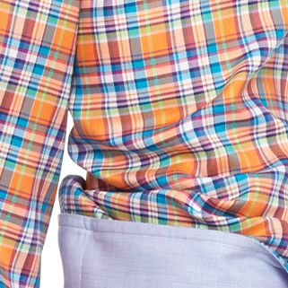 Men: Polo Ralph Lauren Dress Shirts: Bittersweet Polo Ralph Lauren OXFORD NON IRON 08 PINK PLAID