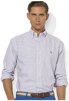 Polo Ralph Lauren Classic-Fit Tattersall Cotton Oxford Shirt
