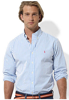 Polo Ralph Lauren Classic-Fit Striped Poplin Shirt