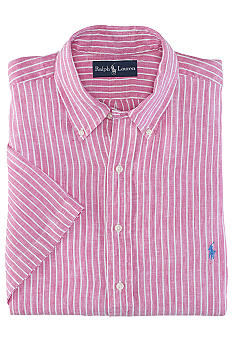 Polo Ralph Lauren Classic-Fit Striped Linen Shirt