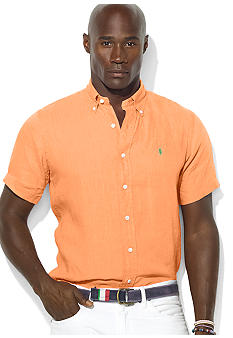 Polo Ralph Lauren Big & Tall Classic-Fit Short-Sleeved Poplin Shirt