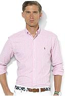 Polo Ralph Lauren Classic-Fit Checked Oxford Cotton Shirt