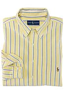 Polo Ralph Lauren Big & Tall Classic-Fit Long-Sleeved Striped Oxford Cotton Shirt