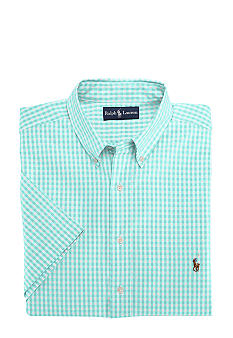 Polo Ralph Lauren Big & Tall Classic-Fit Long-Sleeved Checked Oxford Cotton Shirt