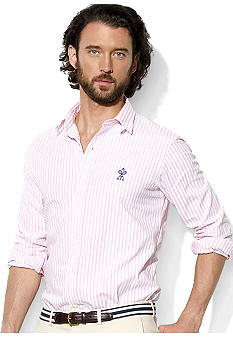 Polo Ralph Lauren Custom-Fit Striped Oxford Douglas Shirt