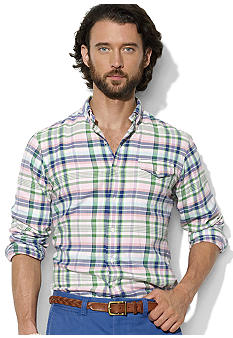 Polo Ralph Lauren Custom-Fit Plaid Bleecker Shirt