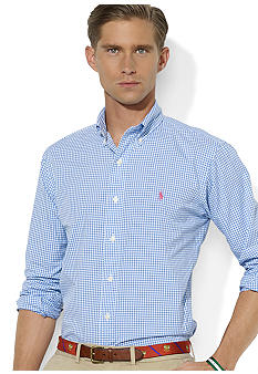 Polo Ralph Lauren Classic-Fit Checked Poplin Shirt