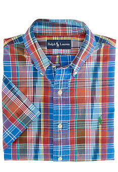 Polo Ralph Lauren Classic-Fit Cotton Madras Shirt