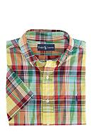 Polo Ralph Lauren Big & Tall Classic-Fit Short-Sleeved Cotton Madras Shirt