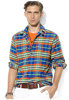Polo Ralph Lauren Classic Western Plaid Shirt