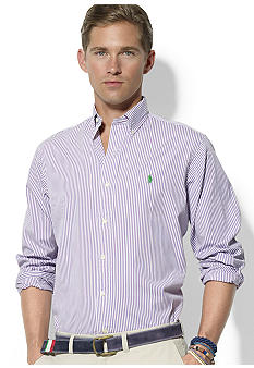 Polo Ralph Lauren Custom-Fit Striped Cotton Poplin Shirt