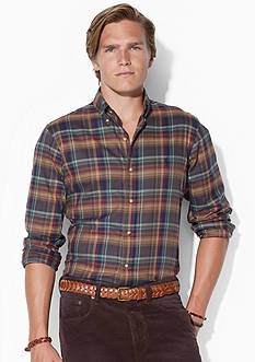Polo Ralph Lauren Plaid Twill Shirt