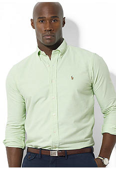 Polo Ralph Lauren Big & Tall Classic-Fit Long-Sleeved Oxford Cotton Shirt
