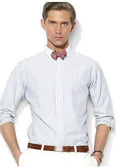 Polo Ralph Lauren Striped Cotton Spread-Collar Shirt