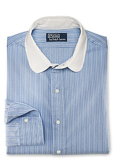Polo Ralph Lauren Striped Cotton Club-Collar Shirt