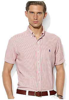 Polo Ralph Lauren Classic-Fit Seersucker Button-Down Shirt
