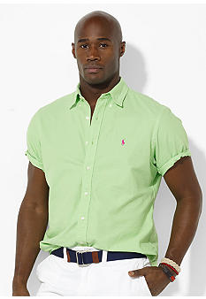 Polo Ralph Lauren Big & Tall Classic Combed Cotton Shirt