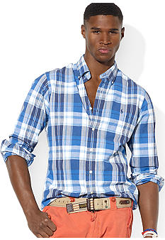 Polo Ralph Lauren Custom-Fit Madras Shirt