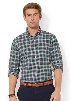 Polo Ralph Lauren Plaid Oxford Shirt<br>