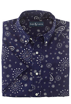 Polo Ralph Lauren Custom-Fit Bandana-Print Shirt