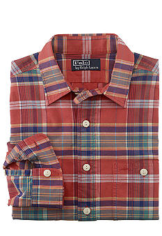 Polo Ralph Lauren Plaid Oxford Workshirt