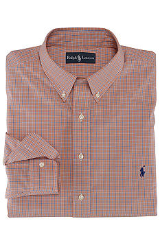 Polo Ralph Lauren Big & Tall Classic-Fit Tattersall Cotton Poplin Shirt