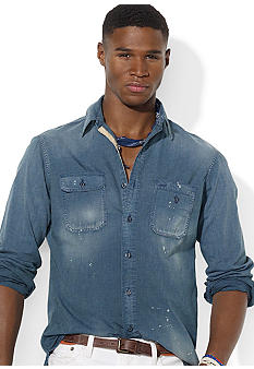 Polo Ralph Lauren Washed Chambray Workshirt