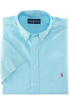 Polo Ralph Lauren Custom-Fit Checked Button-Down Shirt
