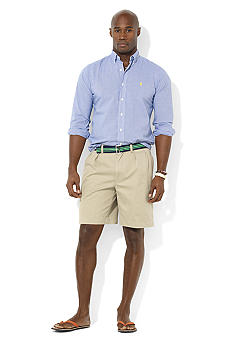 Polo Ralph Lauren Classic-Fit Short-Sleeved Checked Button-Down Shirt