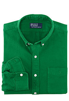 Polo Ralph Lauren Custom-Fit Patch-Pocket Oxford Shirt