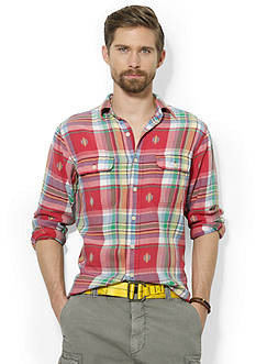 Polo Ralph Lauren Plaid Matlock Workshirt