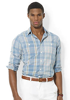 Polo Ralph Lauren Plaid Langley Workshirt