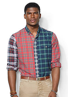 Polo Ralph Lauren Patchwork Plaid Bleecker Shirt