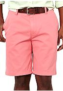 Nautica Cotton Twill Flat Front Shorts