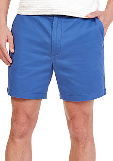 Nautica Flat Front Shorter Shorts