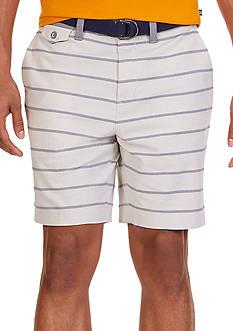 Nautica Modern Fit Striped Oxford Shorts