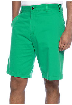 Nautica Big & Tall Flat Front Shorts