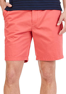 Nautica Big & Tall Flat-Front Deck Shorts