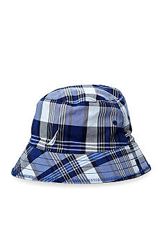 Nautica Plaid Bucket Hat