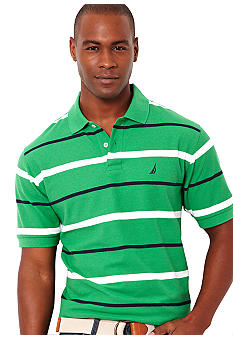 Nautica Stripe Performance Deck Shirt