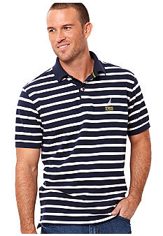 Nautica Nautical Striped Polo Shirt