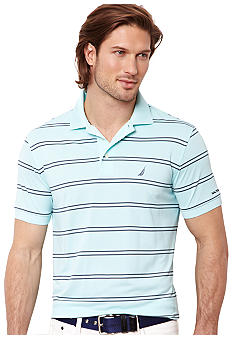 Nautica Tech Pique Stripe Polo