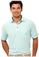 Nautica Mini Stripe Polo Knit