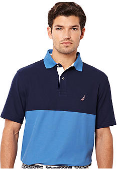Nautica Colorblock Polo