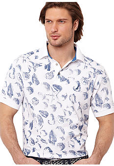 Nautica Wave Print Polo