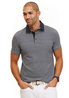 Nautica Slim-Fit Linen Collar Polo Shirt