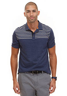 Nautica Engineered Chest Stripe Polo Shirt