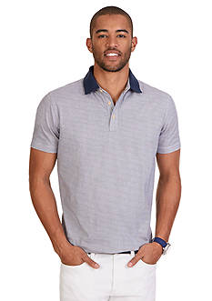 Nautica Classic Fit Printed Polo Shirt
