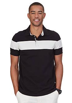 Nautica Slim Fit Chest Stripe Polo Shirt